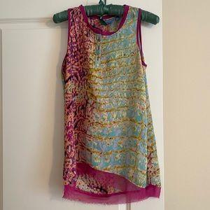 Simply Vera Wang tunic abstract print tunic